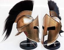 Armor Spartan Helmet 300 Rise of Empire Movie Helmet Halloween Costume & Stand
