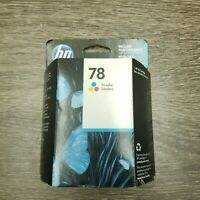 HP 78 Tri-Color Ink C6578DN New Genuine Date: Oct 2019