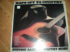 Willie Nelson-Johnny Cash-Tammy Wy-Hats Off To Country-SEALED LP-Various artists