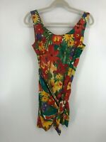 Steppin Out Floral Dress With Wrap Juniors Dress Size 7