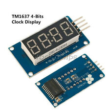 1/2/5/10PCS 4 Bits Digital Tube LED Module With Clock Display TM1637 for Arduino