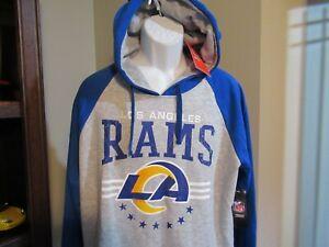 Los Angeles Rams New Logo Hoodie Sweatshirt Men's XL nwt Free Ship