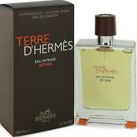 Terre D'Hermes Eau Intense Vetiver by Hermes cologne EDP 3.3 / 3.4 oz New in Box