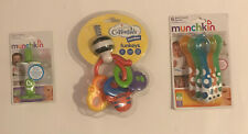 Lot of New Baby Supplies Munchkin Multi Forks Spoons, Teether and Training Spoon