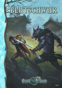 Splittermond: Blutschwur (Abenteuerband), Rollenspiel, Fantasy, NEU