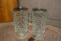 "Vintage Colony Whitehall Clear 6"" Footed Ice Tea Glass 