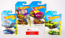 Hot Wheels: City Works: Quick Bite, Trans Connect, Shifter, Attaxi - Qty 4   NEW