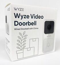 Wyze Video Doorbell Camera Chime Ip65 Weatherproof Night Vision