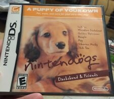 NINTENDO DS *** Nintendogs: Dachshund & Friends *** SEALED Brand New !