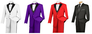 ALL COLORS Jacket & Pant Set Prom Tux Tuxedo Halloween Costume QUICK SHIPPING