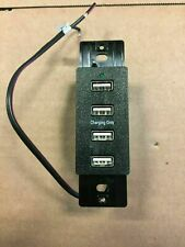 MAGNADYNE 4 PORT USB RECESSED WALL MOUNT WC-USB-B 12V RV TRAILER MOTOR HOME