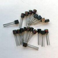 (PKG of 20) PN3563 NPN RF Amplifier Transistors, TO-92, National