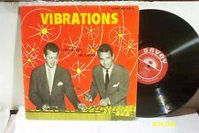 """DON ELLIOTT & CAL TJADER LP """"Vibrations"""" ORIGINAL SAVOY RECORDS D/G EX"""