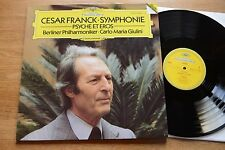 CESAR FRANCK Symphonie Psyche Et Eros  BPO GIULINI LP DGG DIGITAL 419 605-1