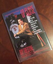 UP CLOSE AUTOGRAPHED BOOK SIGNED BY ROY FIRESTONE HC/DJ