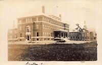 Real Photo Postcard Dormitory of Normal School in Castine, Maine~121652
