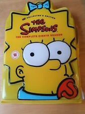 The Simpsons - Series 8 - Complete (DVD, 2006, 4-Disc Set). Collector's Edition.