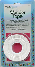 Collins Wonder Tape, Water Soluble, 6mm x 9m