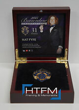 Nat Fyfe 2015 Brownlow Official AFL Replica Medal in Wooden Box Limited Edition