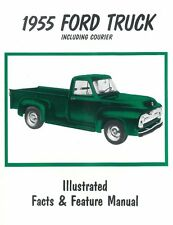 1955 Ford Truck F100-F350 / Courier Facts Features Sales Brochure Literature