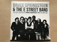 THE SOUL CRUSADERS VOL. 2  BRUCE SPRINGSTEEN  Vinyl Double Album  PARA255LP