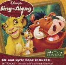 Disney's Sing-A-Long - The Lion King - Various Artists (NEW CD)