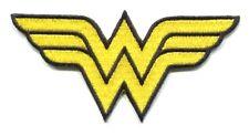 Wonder Woman ww symbol logo Iron-On Patch Dc Comics pdc23 girl costume applique