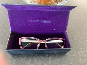 WILLIAM MORRIS LONDON VINTAGE INSPIRED PINK GLASSES FRAMES 4128  52X18 148 C2