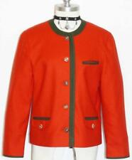DACHSTEIN ~ RED WOOL German Dress Coat JACKET 40 10 M