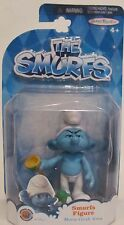 """New! The Smurfs Figure Movie Grab 'Ems Official Movie Merchandise Toy """"Grouchy"""""""