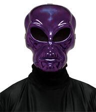 Purple Alien Hockey Mask Adult Halloween Accessory