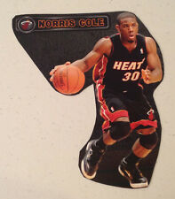 "Norris Cole #30 Fathead Miami Heat 7"" w/ Nameplate Sign Vinyl Wall Graphics"