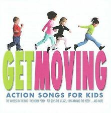 Get Moving: Action Songs For Kids 2007 . Disc Only/No Case