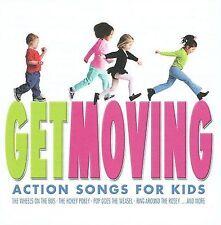 ACTION KIDS - Get Moving - CD - **BRAND NEW/STILL SEALED**
