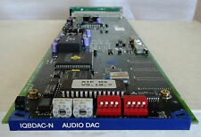 SNELL & WILCOX IQBDAC-N DIGITAL TO ANALOG AUDIO CONVERTER CARD WITH REAR MODULE*