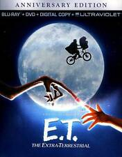 E.T. The Extra-Terrestrial (Blu-ray/DVD, 2012) Slipcover included