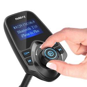 Nulaxy KM18 LCD Wireless Car SUV Bluetooth FM Transmitter Radio Adapter Car Kit