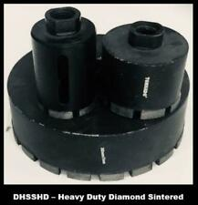 Sintered Diamond Hole Saw Heavy Duty - Free SDS Arbor Kit