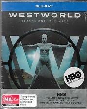 Westworld : Season 1(Blu-ray,2017,3-Disc Set)+ Movie New Region B Free Post