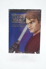 Star Wars: The Clone Wars - The Complete Season Three (DVD, 4-Disc Set) New