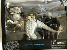 Star Wars Black Series Han Solo and Tauntaun New with Damaged Box