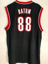 Adidas NBA Jersey PORTLAND Trailblazers Nicolas Batum Black sz XL