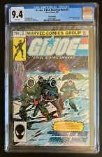 G.I. Joe, A Real American Hero #2 CGC 9.4 White Pages 2nd Printing New Case