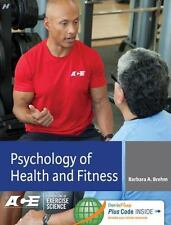 PSYCHOLOGY OF HEALTH AND FITNESS - BREHM, BARBARA A. - NEW HARDCOVER BOOK