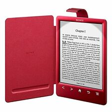 Sony Red Reader Cover PRSA-CL30 with Light for PRS-T3S cover only Japan import
