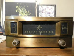 Fisher Series Ninety Gold Cascade FM Mono Tuner With Rare Wood Case