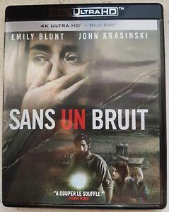 "4K ULTRA HD + Blu-ray "" SANS UN BRUIT   ""  Emily Blunt ."