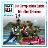 """WAS IST WAS """"FOLGE 26: OLYMPISCHE SPIELE/DIE ALTE GRIECHEN"""" CD NEU"""