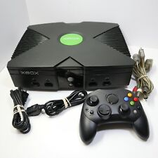 New listing Original Xbox Microsoft Console w/ Cables And Controller - Tested And Working