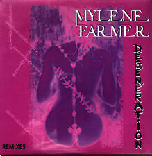 "Mylène Farmer 12"" Dégénération (Remixes) - Limited Edition - France (M/M)"